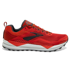 Brooks Cascadia 14 Mens | Red/Ebony/Grey