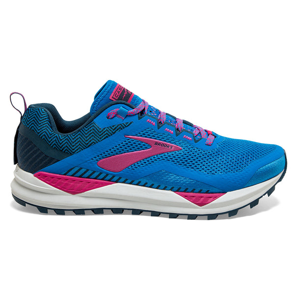 Brooks Cascadia 14 Womens | Blue Aster/Beetroot/Grey