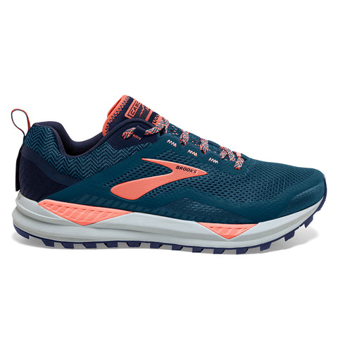 Brooks Cascadia 14 Womens | Desert Flower/Navy/Grey