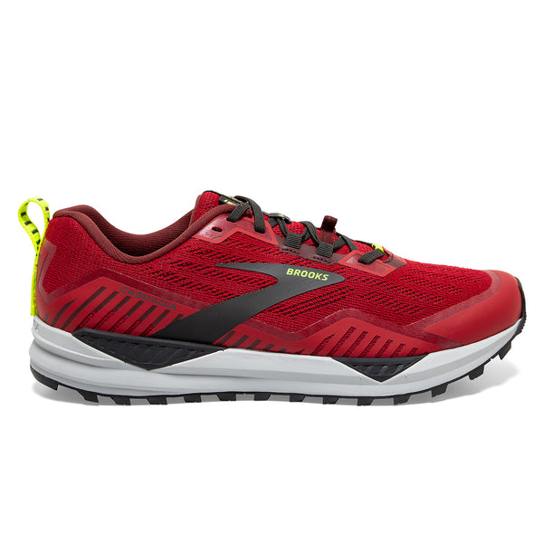 Brooks Cascadia 15 Mens | Samba Red/brick/black