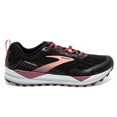 Brooks Cascadia 15 Womens | Black/ebony/coral Cloud