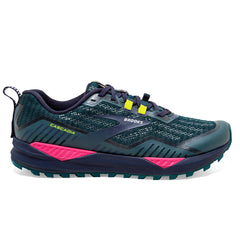 Brooks Cascadia 15 Womens | Navy/pink/yellow