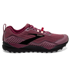 Brooks Cascadia 15 Womens | Nocturne/zinfandel/black