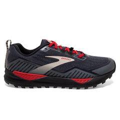 Brooks Cascadia GTX 15 Mens | Black/ebony/red