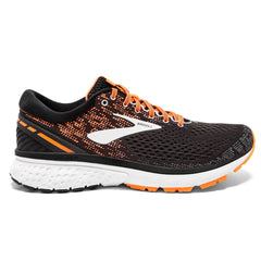 Brooks Ghost 11 Mens | Black/Silver/Orange
