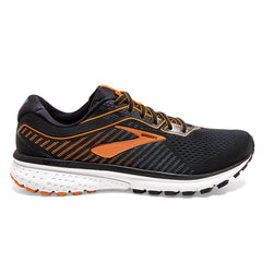 Brooks Ghost 12 Mens | Black/Turbulence/Orange
