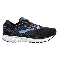 Brooks Ghost 12 Womens |  Black/turbulence/cornflower