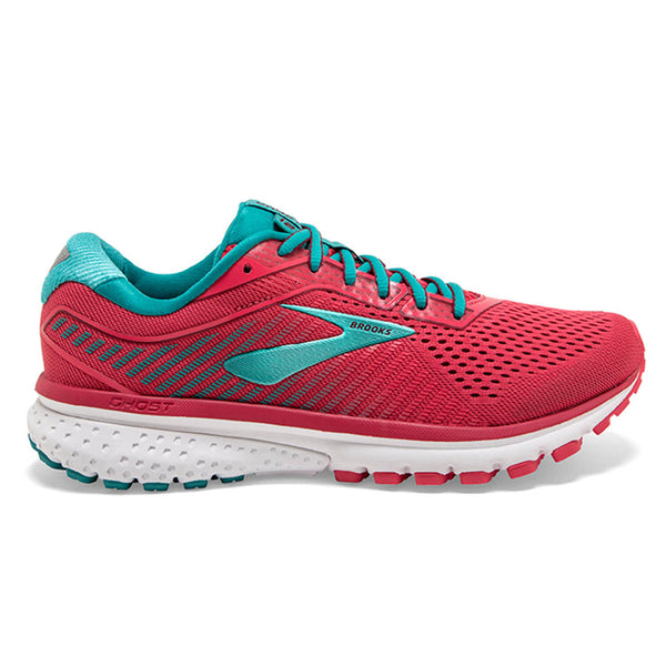 Brooks Ghost 12 Womens | Teaberry/Rumba/Viridian