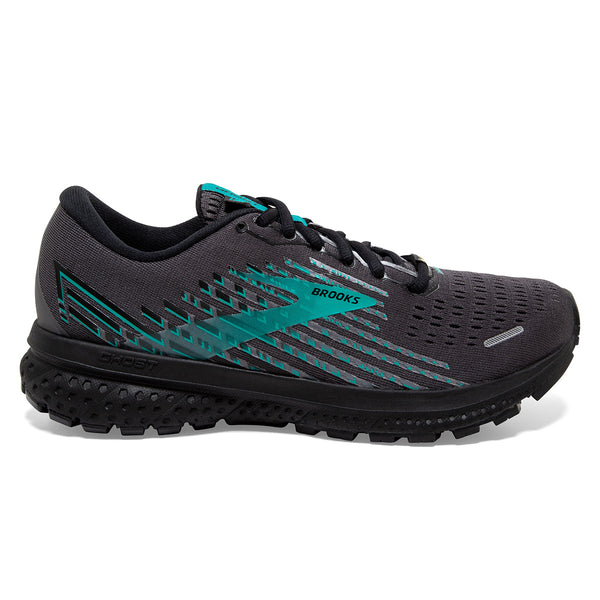 Brooks Ghost 13 GTX Womens | Black/black/peacock