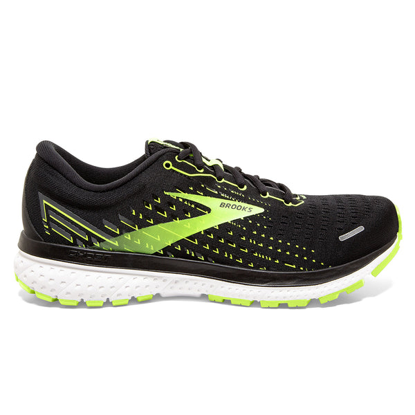 Brooks Ghost 13 Mens | Black/nightlife/white
