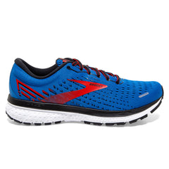 Brooks Ghost 13 Mens | Blue/red/white