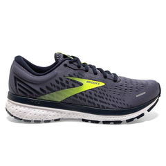 Brooks Ghost 13 Mens | Grey/navy/nightlife