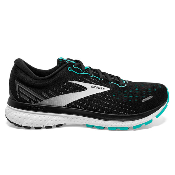 Brooks Ghost 13 Womens | Black/blue Bird/white