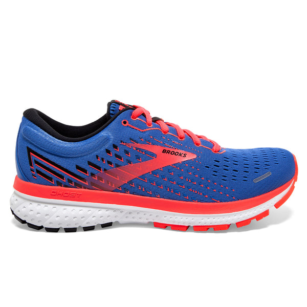 Brooks Ghost 13 Womens | Blue/coral/white