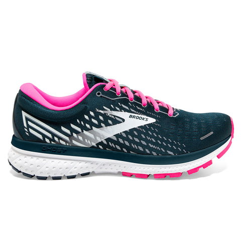 Brooks Ghost 13 Womens | Reflective Pond/pink/ice