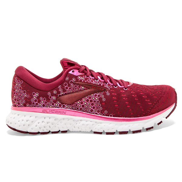 Brooks Glycerin 17 Womens | Beetroot/pink/blue