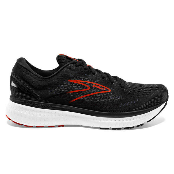 Brooks Glycerin 19 Mens | Black/grey/red Clay