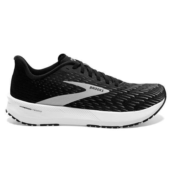 Brooks Hyperion Tempo Womens | Black/silver/white