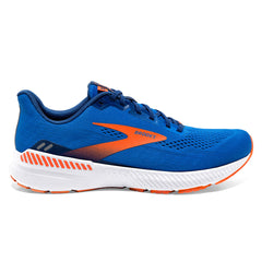 Brooks Launch GTS 8 Mens | Blue/orange/white