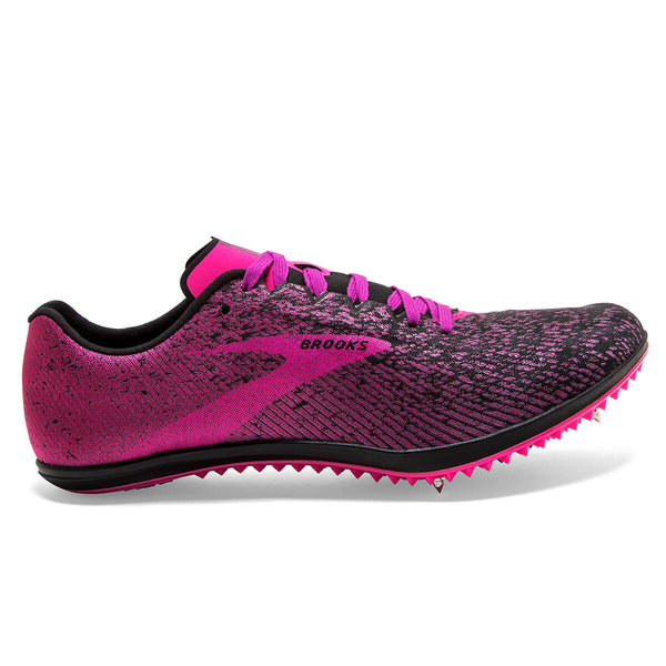 Brooks Mach 19 Womens | Black/Hollyhock/Pink