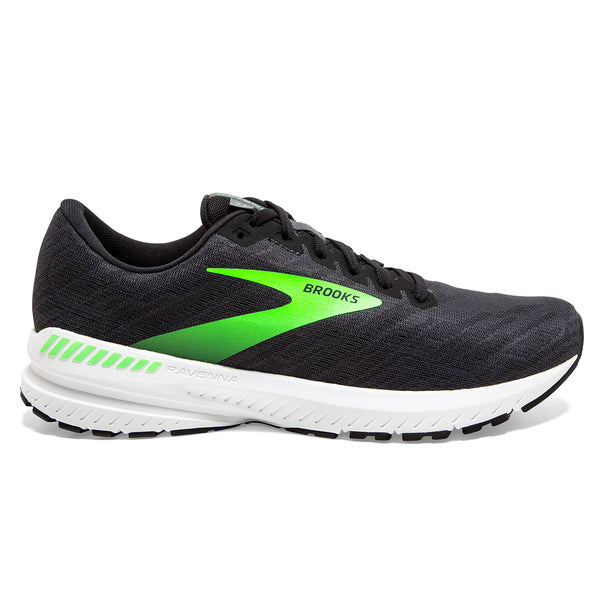 Brooks Ravenna 11 Mens | Ebony/Black/Gecko