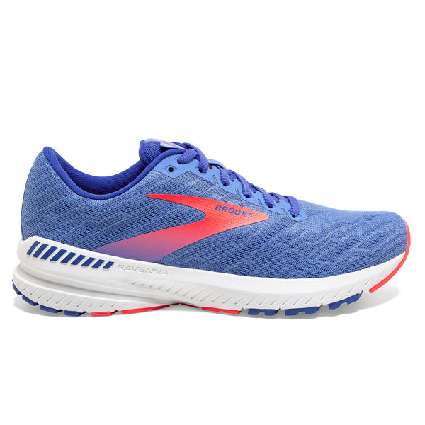 Brooks Ravenna 11 Womens | Cornflower/Blue/Coral