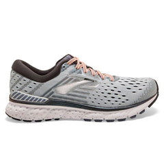 Brooks Transcend 6 Womens | Grey/Pale Peach/Silver