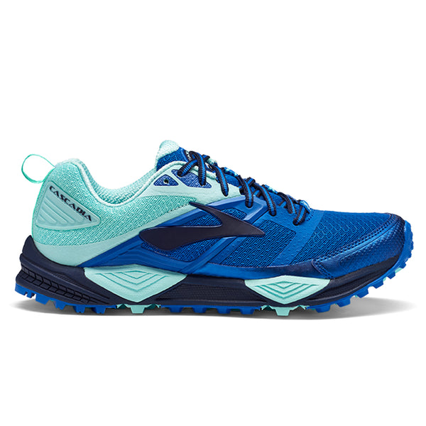 Brooks Cascadia 12 Womens | Navy/blue/mint