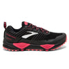 Brooks Cascadia 13 GTX Womens | Black/Pink/Coral