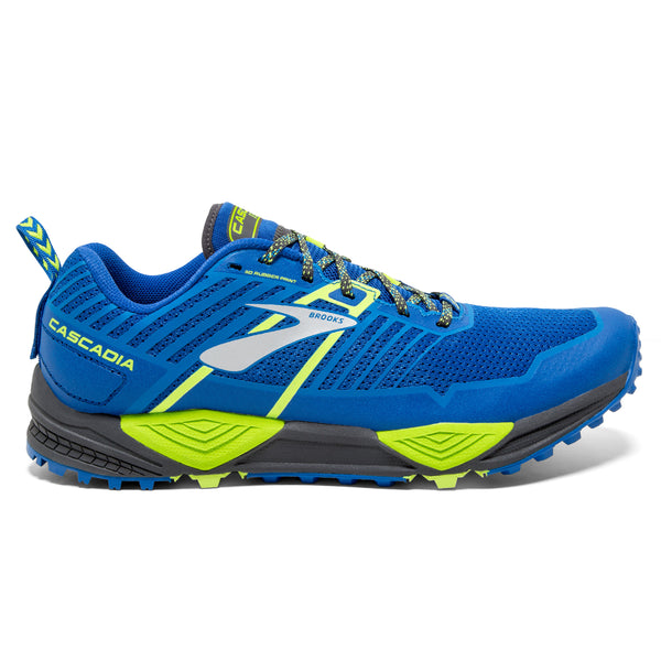 Brooks Cascadia 13 Mens | Blue/Black/Lime