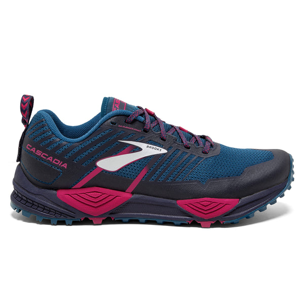 Brooks Cascadia 13 Womens | Ink/Navy/Pink