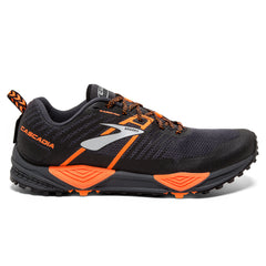 Brooks Cascadia 13 Mens | Grey/Black/Orange