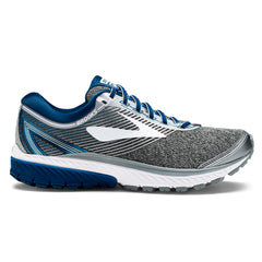 Brooks Ghost 10 Mens | Silver/Blue/White