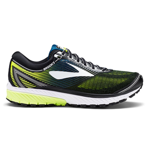 Brooks Ghost 10 Mens | Black/White/Nightlife