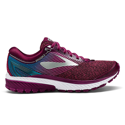 Brooks Ghost 10 Womens | Purple/Pink/Teal