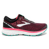 Brooks Ghost 11 Womens | Narrow | Black/Pink/Aqua