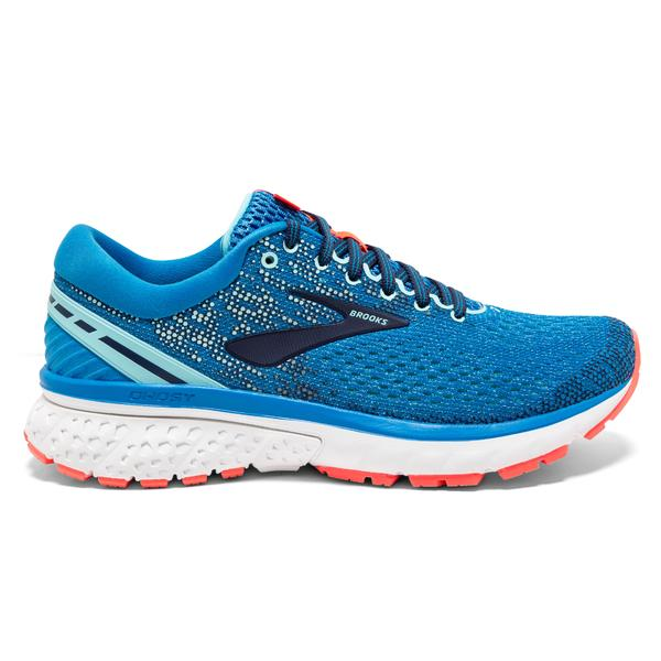 Brooks Ghost 11 Womens | Blue/Navy/Coral