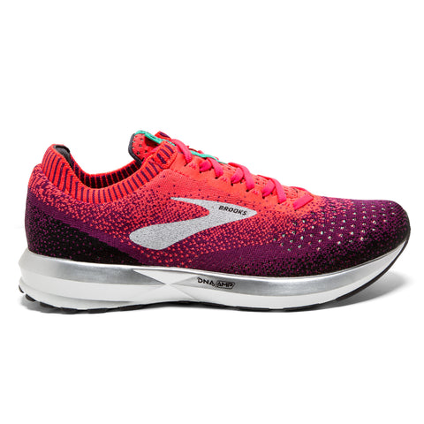 Brooks Levitate 2 Womens | Pink/Black/Aqua