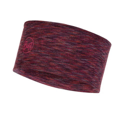 Buff Merino Wool Headband | Shale Grey Multi Stripes