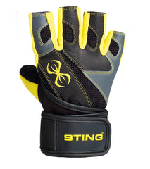 Sting C4 Neo Gel Heavy Training Gloves | Yellow