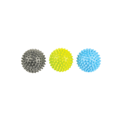 Fitness Mad Spikey Massage Ball Set Of 3