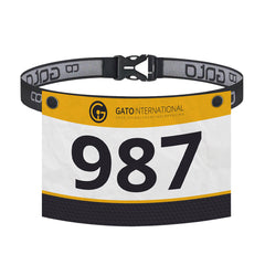 Gato Sports Race Number Belt
