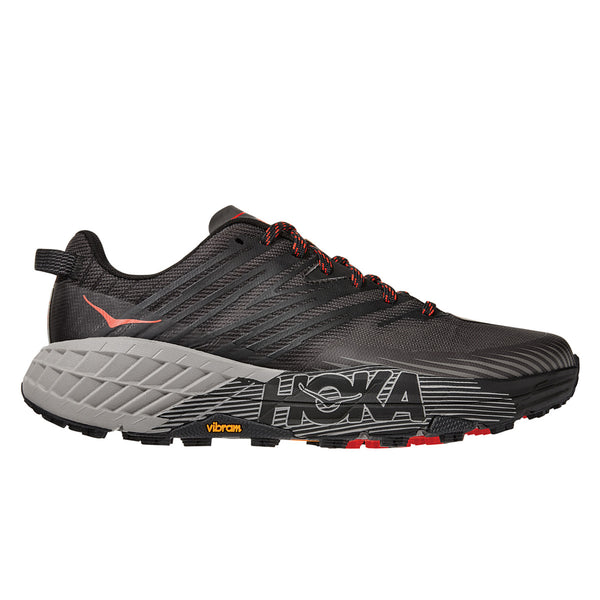Hoka Speedgoat 4 Mens | Dark Gull Grey / Anthracite