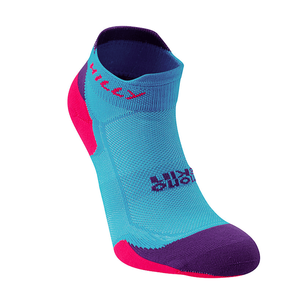 Hilly Lite Cushion Socklet | Teal