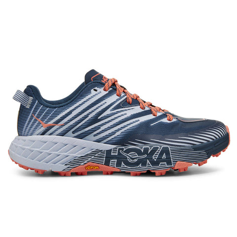 Hoka Speedgoat 4 Womens | Mojolica Blue/heather