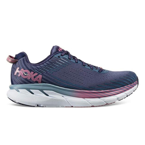 Hoka Clifton 5 Womens | Marlin/Blue Ribbon