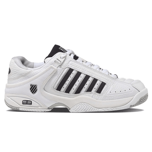 K-Swiss Defier RS Mens Tennis Shoes | White/Black