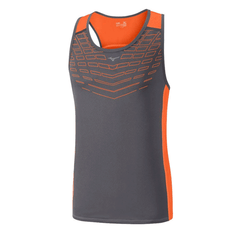 Mizuno Mens Cooltouch Singlet | Grey