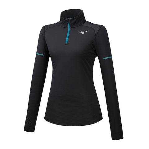 Mizuno Womens Alpha Long Sleeve Half Zip