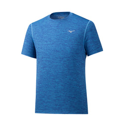 Mizuno Impulse Core Running Tee Mens | Mazzarine Blue